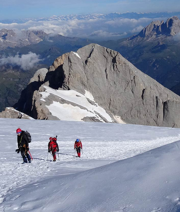 Alpine mountaineering course