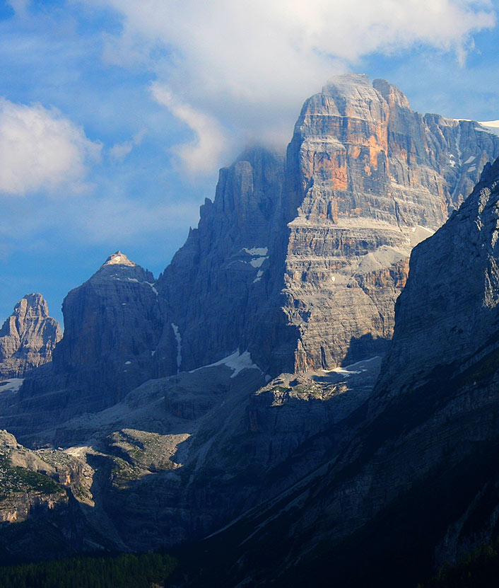 Ring of Brenta Dolomites.